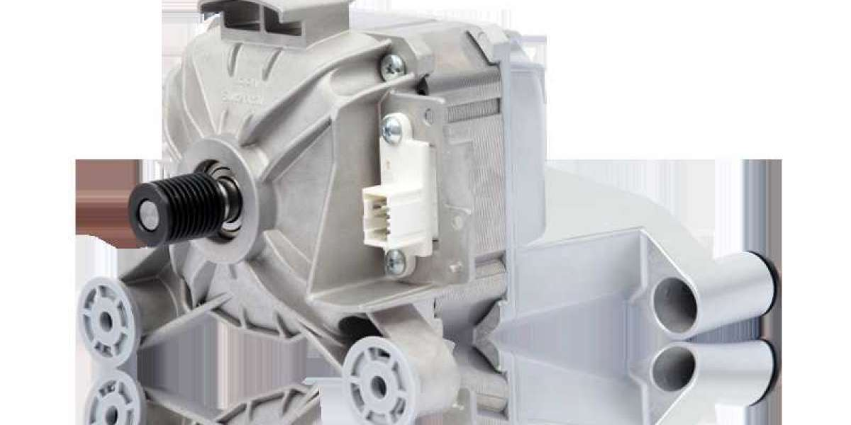 The Principle of Low Noise Washer Motor