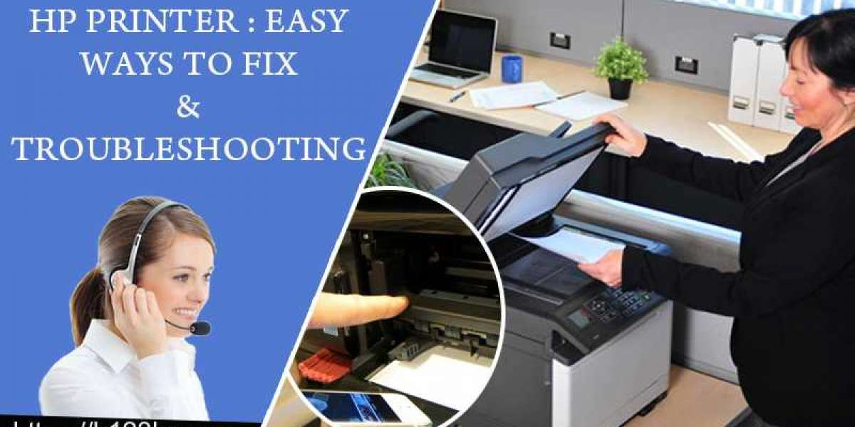 HP Printer : Easy Ways To Fix & Troubleshooting