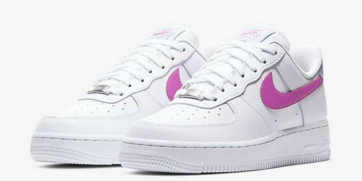 2020 Nike Air Force 1 Low Arriving in White and Pink
