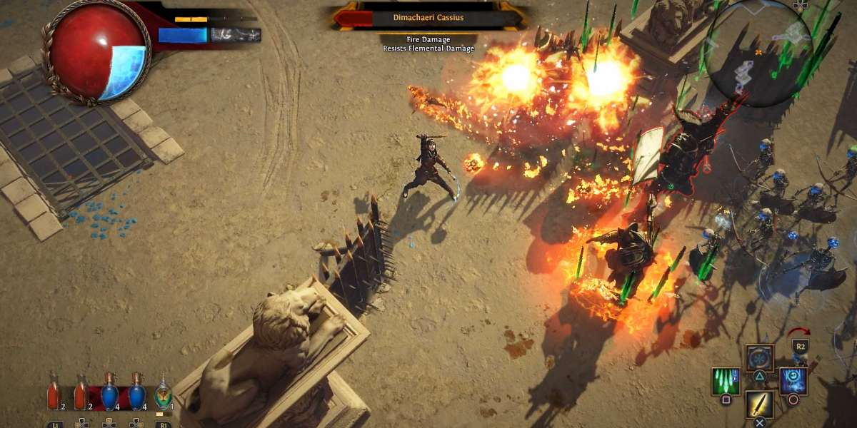 Path of Exile is chargeless to play on Xbox One and Steam