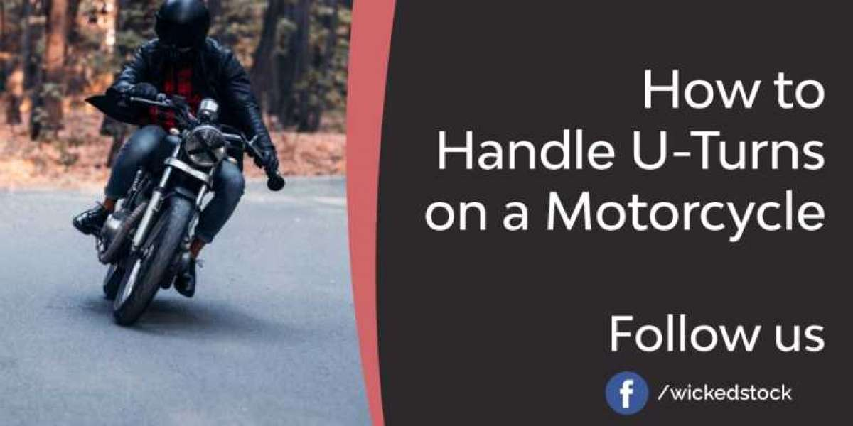 How to Handle U-Turns on a Motorcycle?