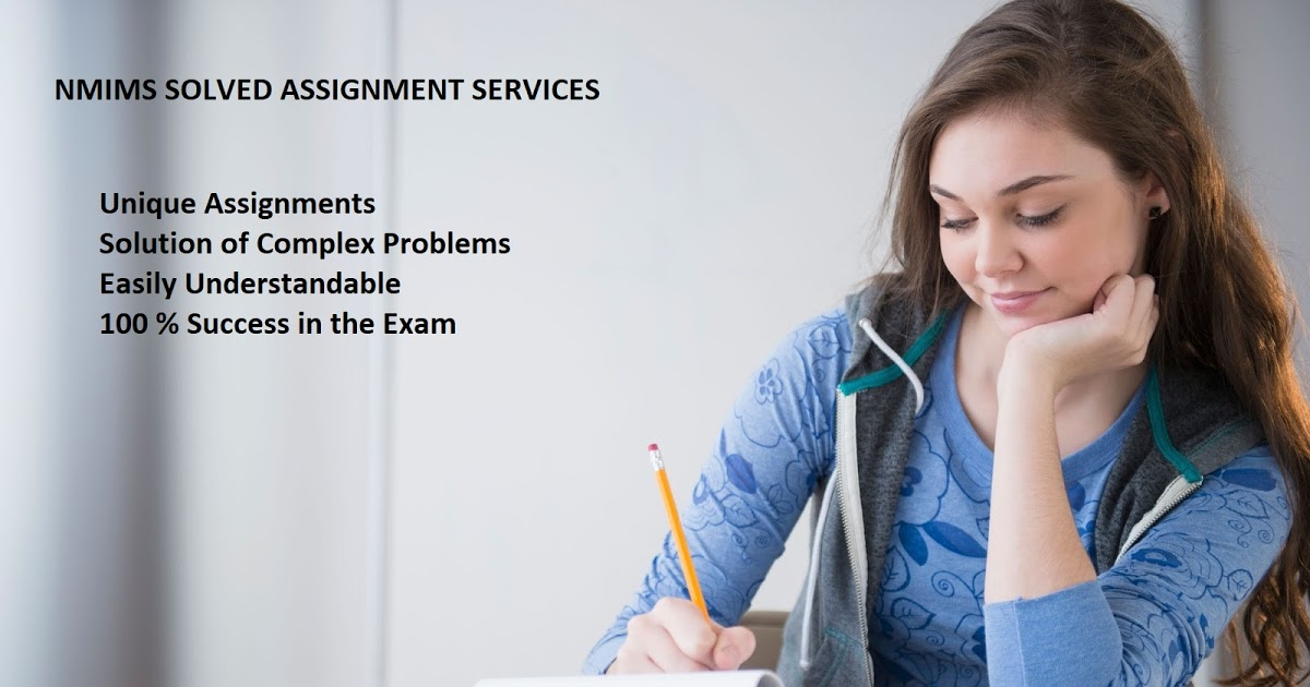 NMIMS Solved Assignment Provider 2020