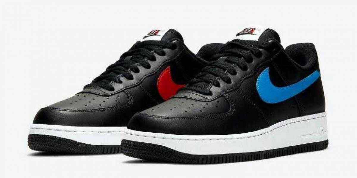 2020 Nike Air Force 1 Black Coming With Alternate Swooshes