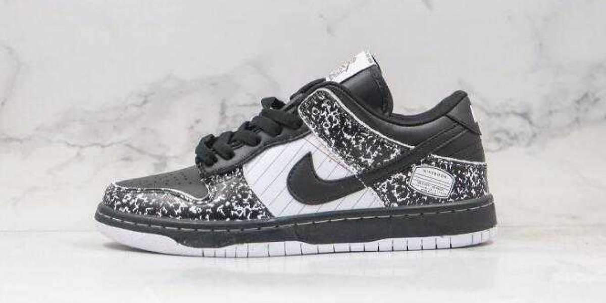 Newest Nike Dunk Low Pro 2020 Black White for Sale