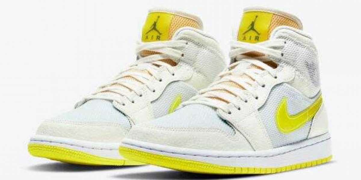 Cool Air Jordan 1 Mid SE Voltage Yellow to Release Soon