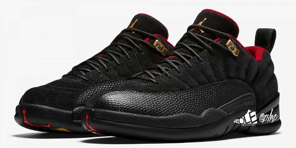 """Air Jordan 12 Low SE """"Super Bowl"""" DC1059-001 Will Be Officially Released On February 6th"""