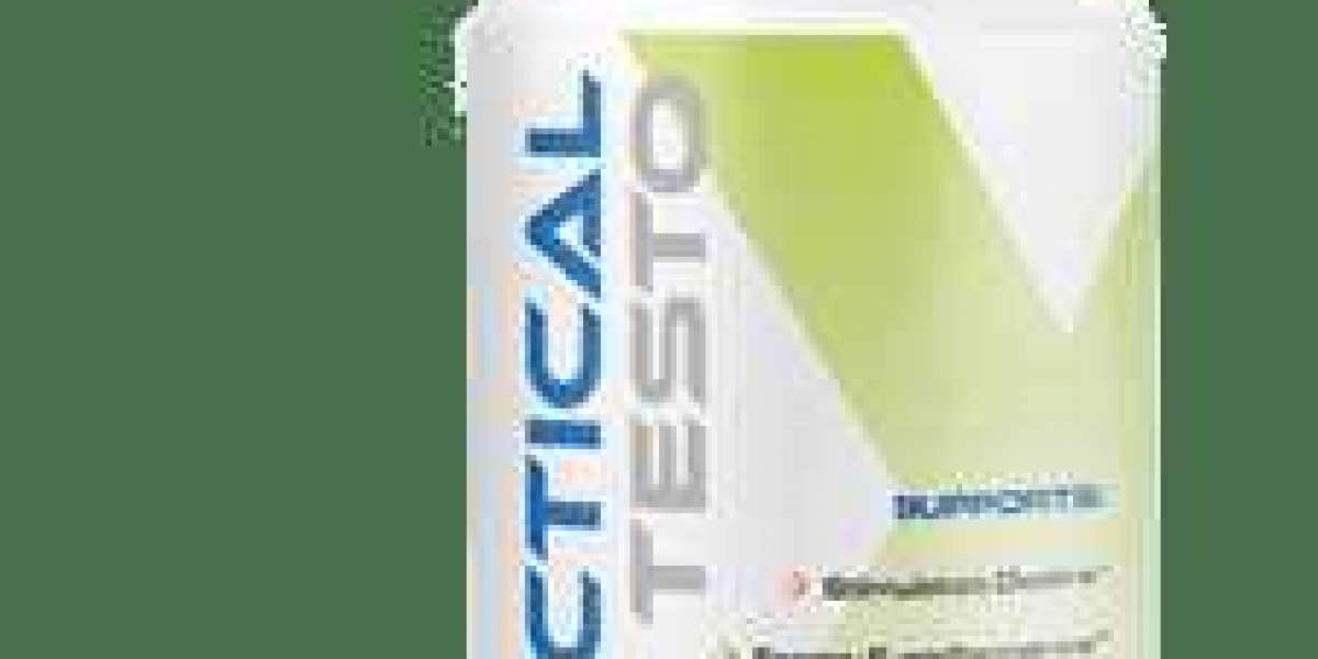Tactical Testo Male Enhancement Testrone Booster