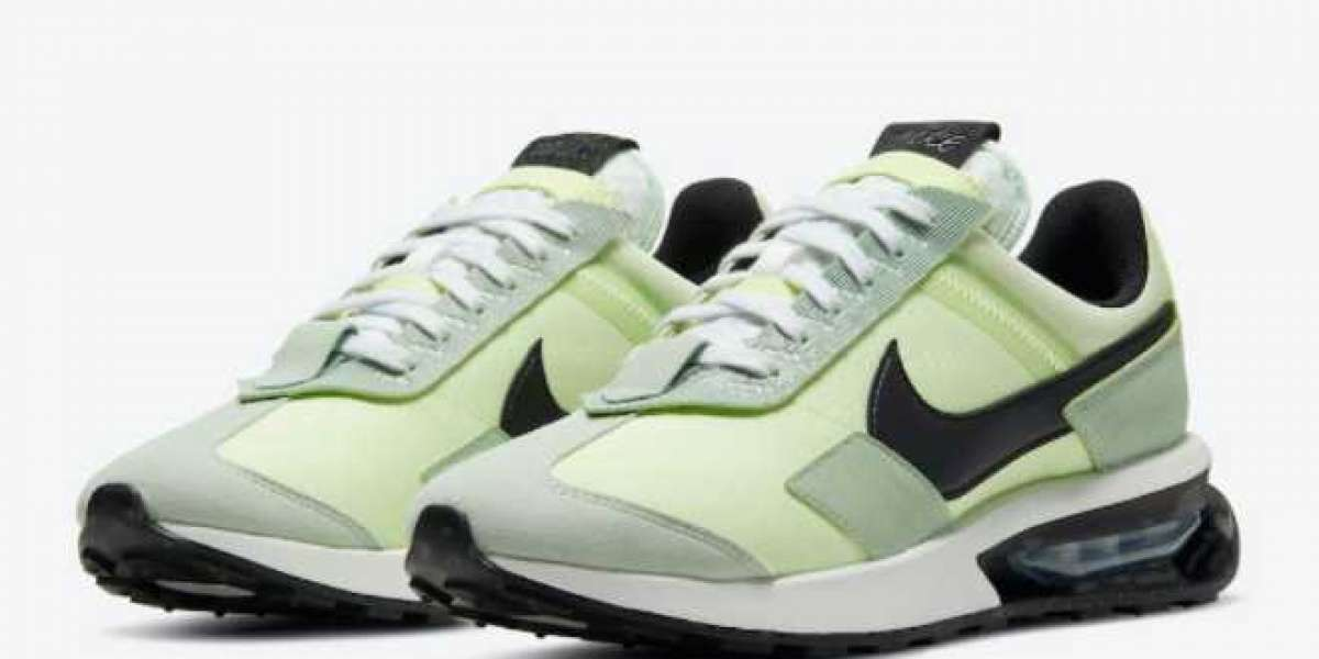 DD0338-300 Nike Air Max Pre-Day Light Liquid Lime Sneakers For Sale