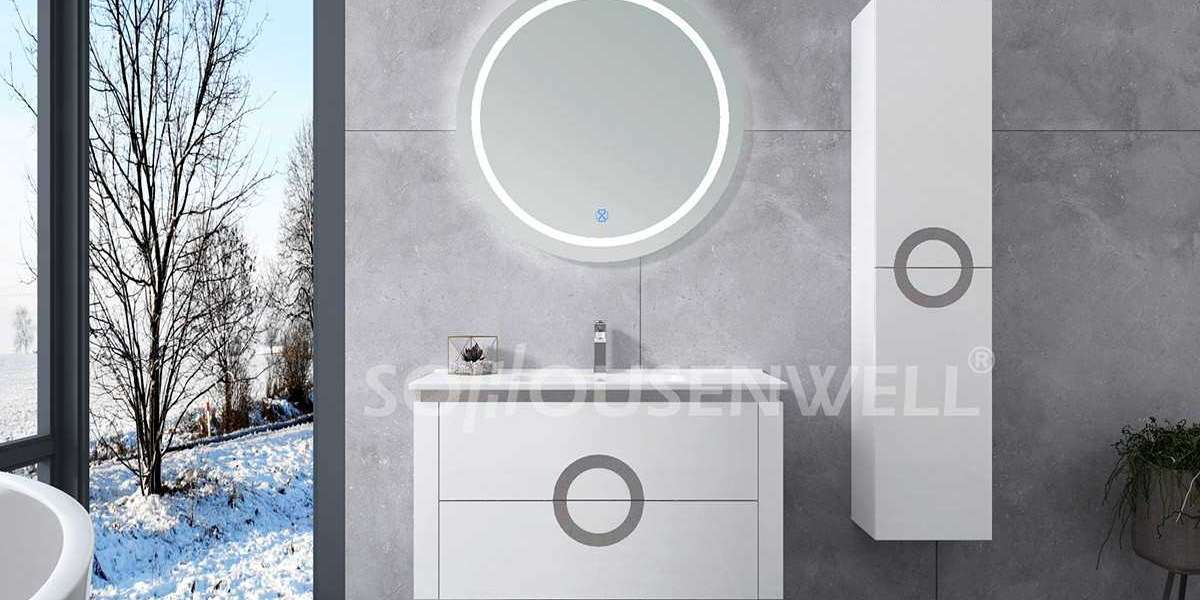 The correct way to clean bathroom led mirror cabinets