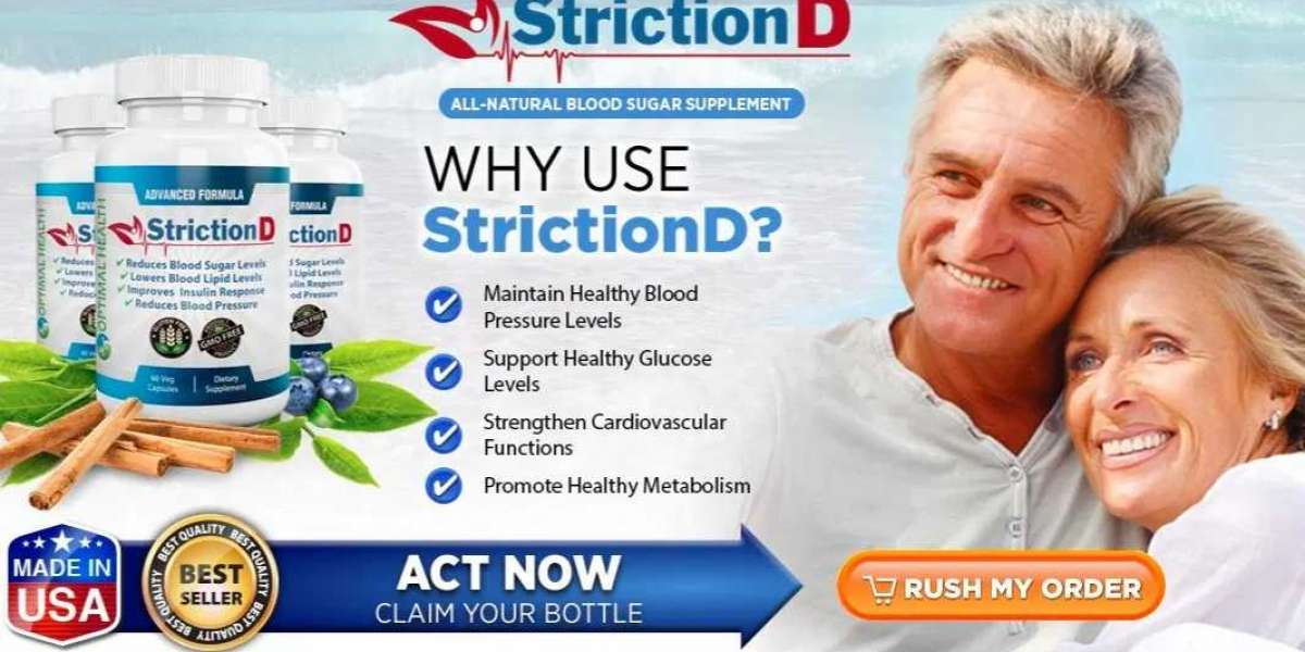 What Is StrictionD (Blood Sugar Formula) & How Do It Maintain Blood Pressure Levels?