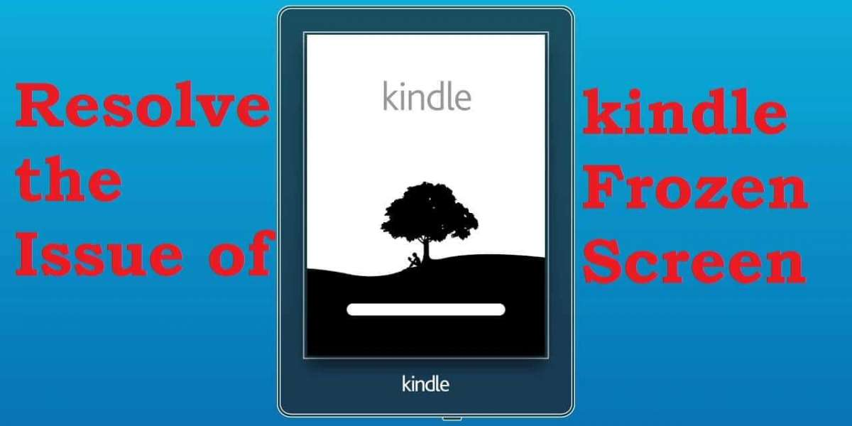 HOW TO RESOLVE THE ISSUE OF KINDLE FROZEN SCREEN - ETalk Tech
