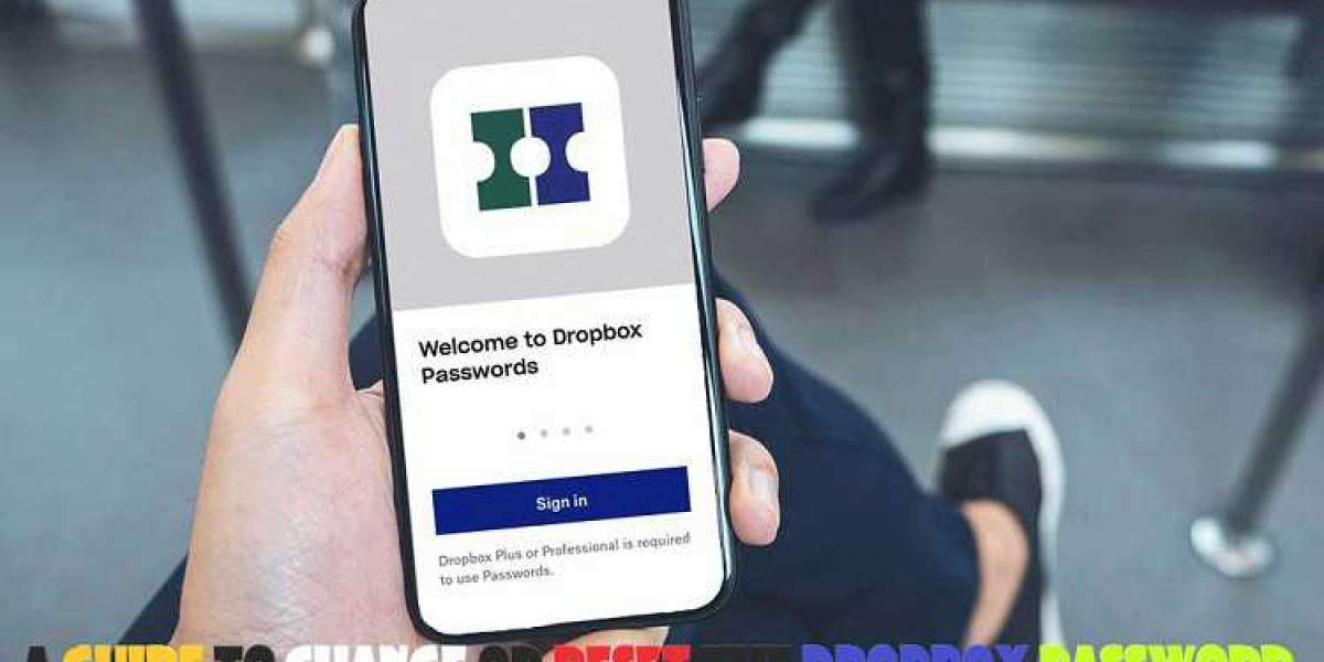 A Guide to Change or Reset the Dropbox Password