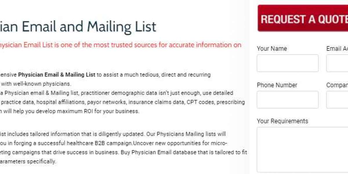Physician Email List