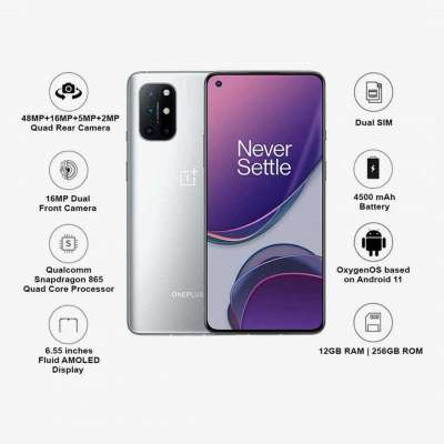 Shop Today OnePlus 8T 5G 256GB (Silver ,12 GB RAM) on No Cost EMI Profile Picture