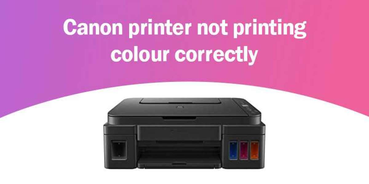 Why is my Canon Maxify Printer Not Printing Color?