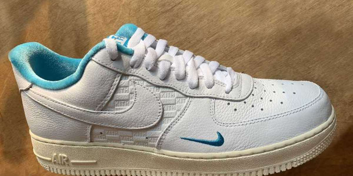 """Latest Release Kith x Nike Air Force 1 Low """"Hawaii"""" DC9555-100"""