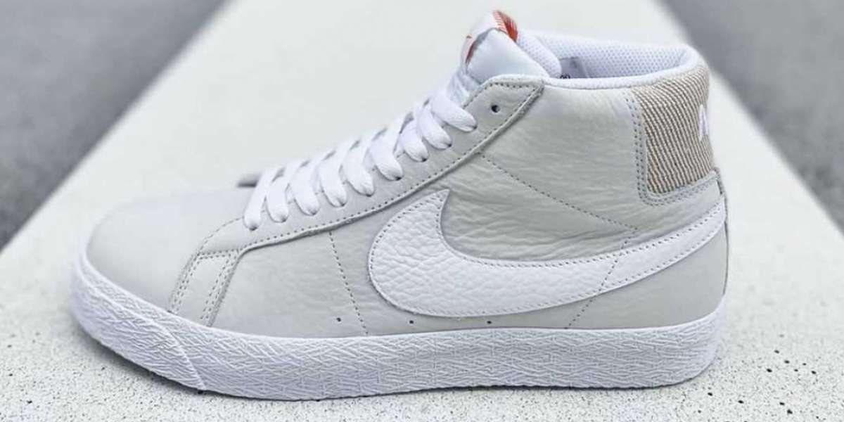 """BA8855-100 Nike SB Blazer Mid """"Unbleached Pack"""" to release September 2021"""