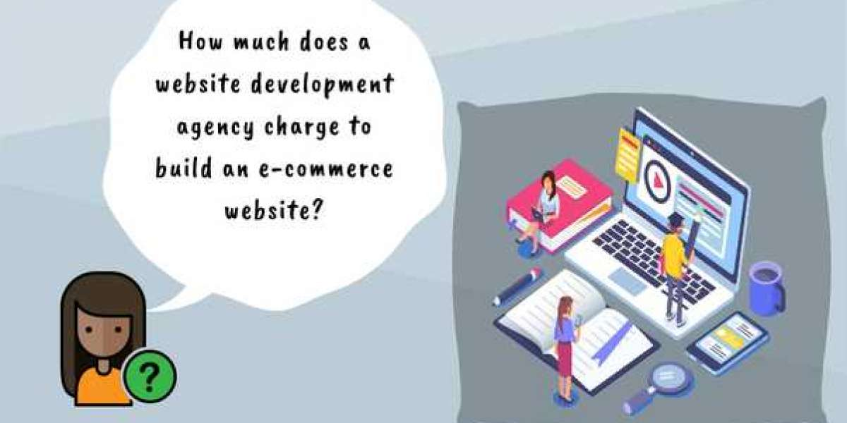 How much does a website development agency charge to build an e-commerce website?