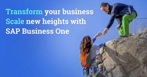 SAP Business One Partner in Pune | SAP Business One Consultant & Support Service