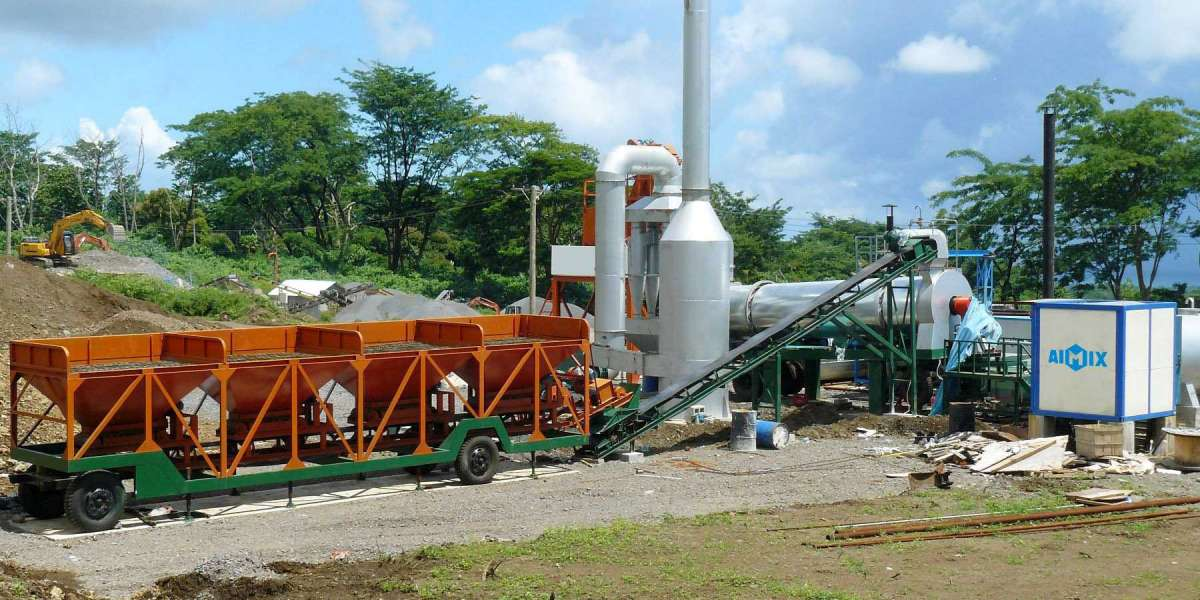 Things You Wish To Understand About A Continuous Asphalt Mix Plant