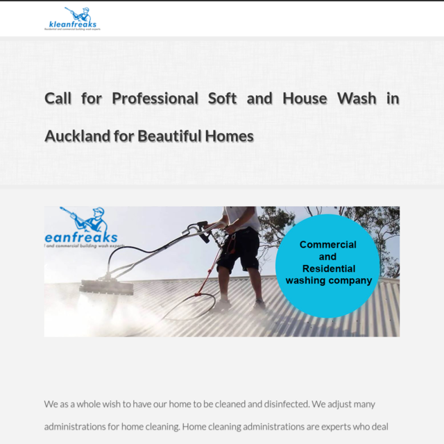 Call for Professional Soft and House Wash in Auckland for Beautiful Homes