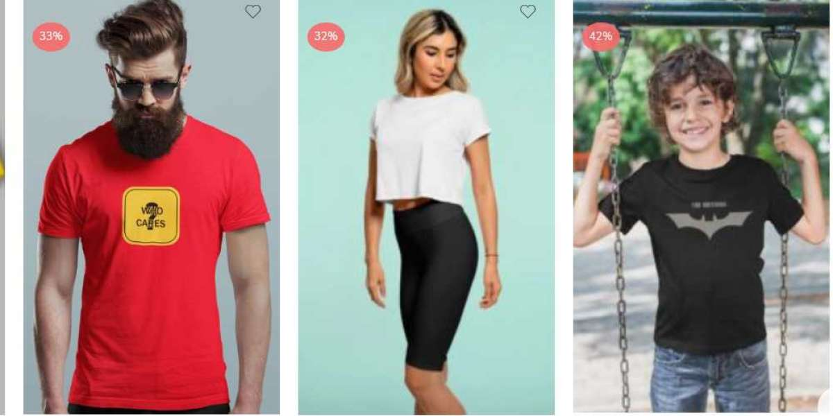 T-SHIRTS ACCORDING TO YOUR BODY TYPES