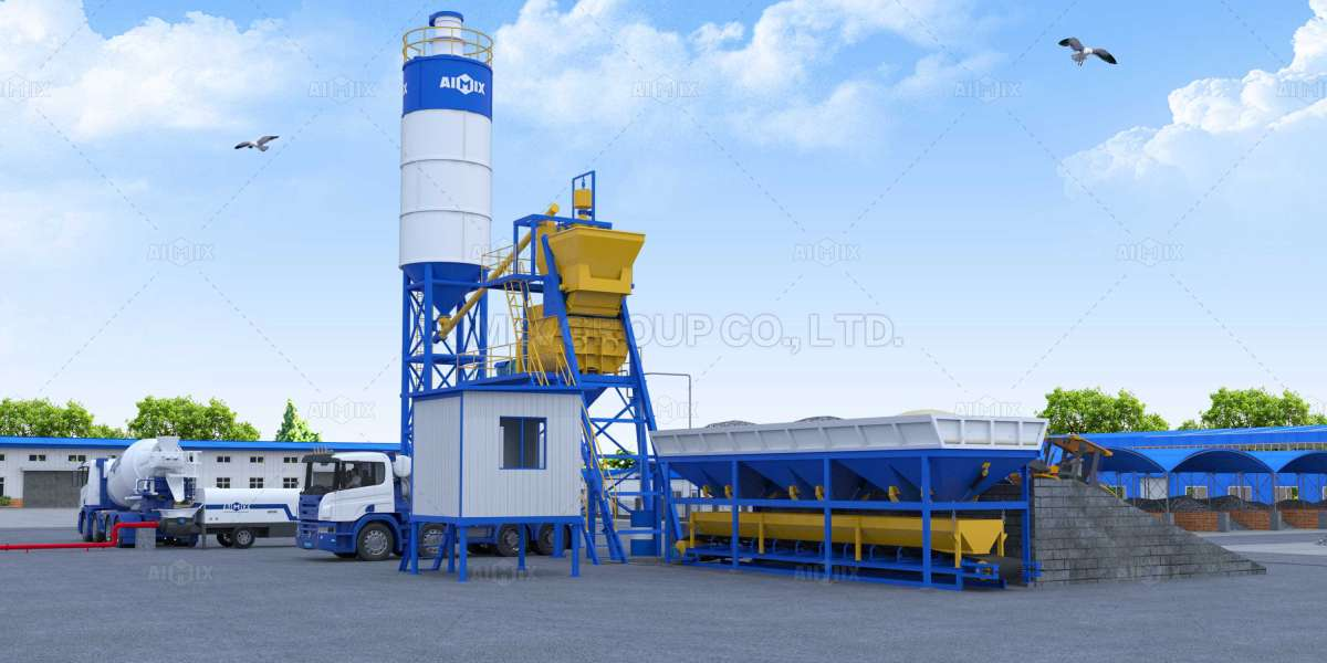An Overview About Concrete Batching Plants For Sale